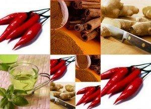 Alimentos com efeito termogênico