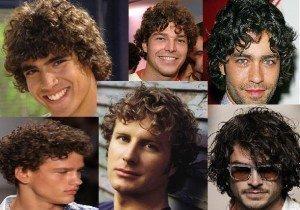 Cortes de cabelos cacheados masculinos