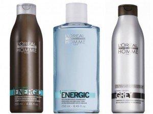 Xampus masculinos L'Oréal