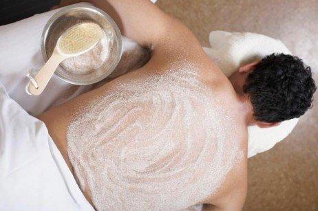 Esfoliação masculina
