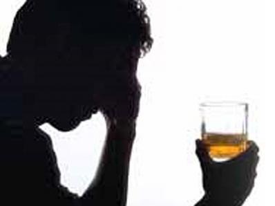 Se o organismo é restaurado depois parado bebida