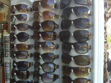 Problemas dos óculos falsificados e piratas