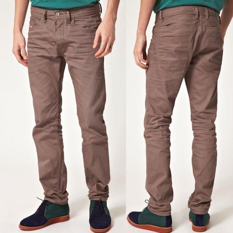 Calça sarja masculina – Colorida 071694e7e51