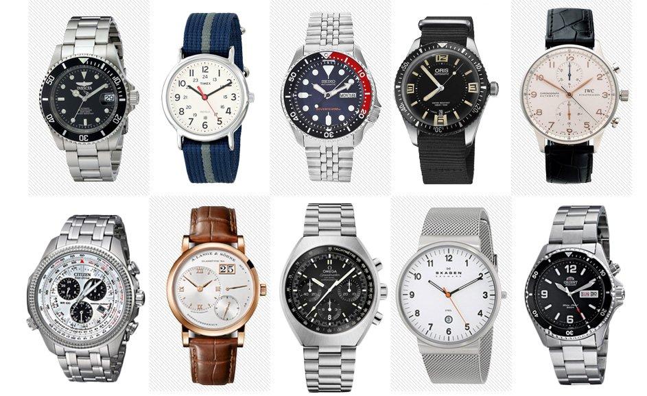 25f98826f 10 melhores marcas de relógio masculino! - Beleza Masculina