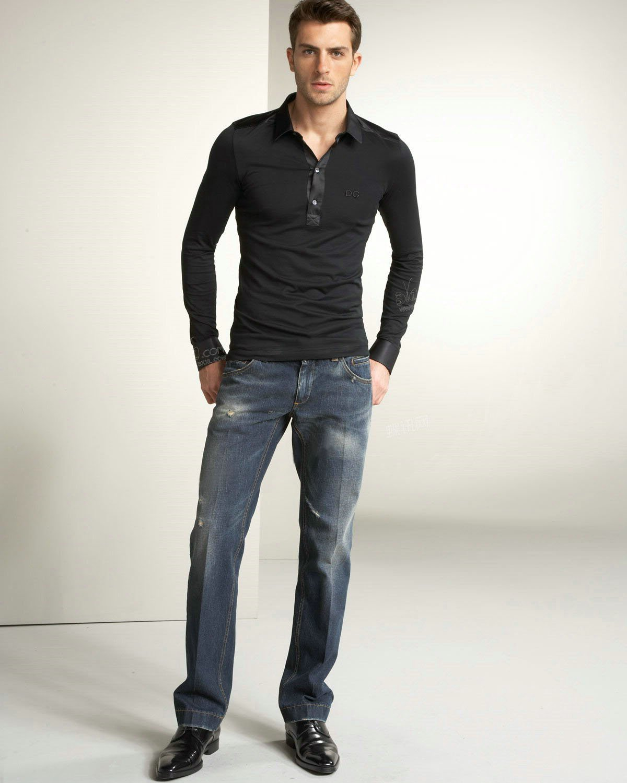 Camisa social com calça jeans f1efb08fdb0