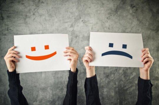Resultado de imagem para pessoas negativas e pessoas positivas