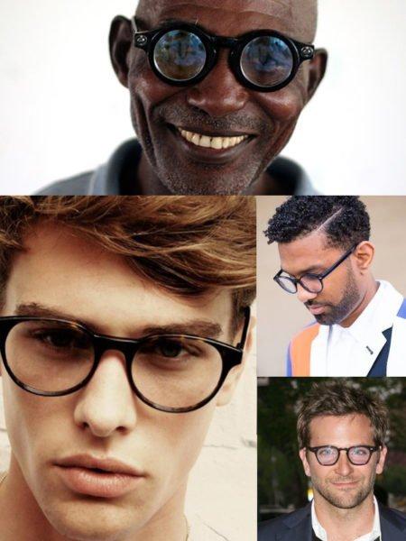 fac077ac3 Considere as cores de armações de óculos masculino que combinam com sua pele