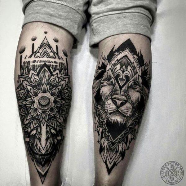 Dicas De Tatuagens Para Panturrilha!